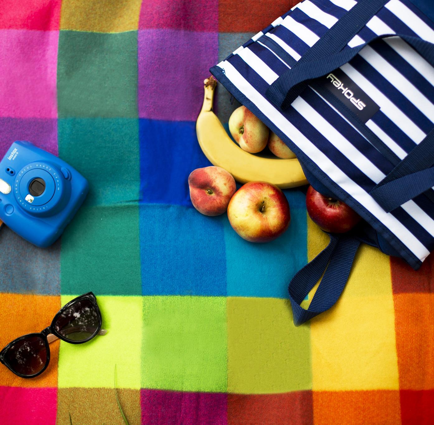 Pikniková deka Spokey Colour, temotaška Spokey Acapulco