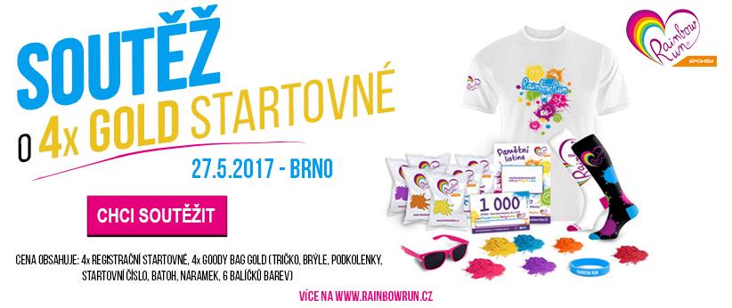 Soutěž RainbowRun Brno