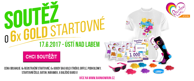 Soutěž RainbowRun Ústí nad Labem