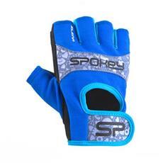 Spokey ELENA II Dámské Fitness rukavice vel.L modro-tyrkysové 2a54ce7055