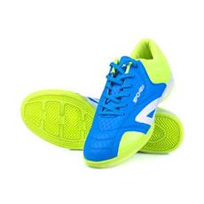 155390f5d9cd Spokey HALL JR 1 Juniorská sálová obuv modro-žlutá vel.28 - 39