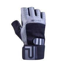 Spokey GUANTO II fitness rukavice černo-šedé c32210bd34
