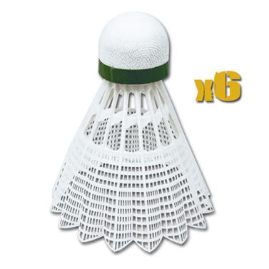 Spokey AIR TEC- Míčky na badminton 6ks nylonové