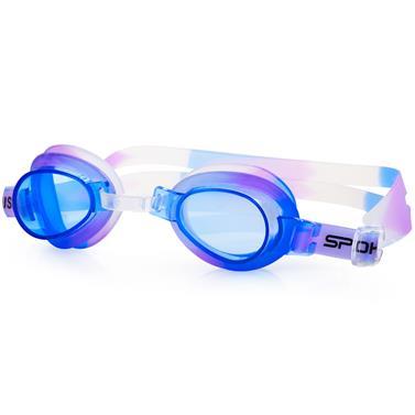 Spokey JELLYFISH Dětské plavecké brýle fialové