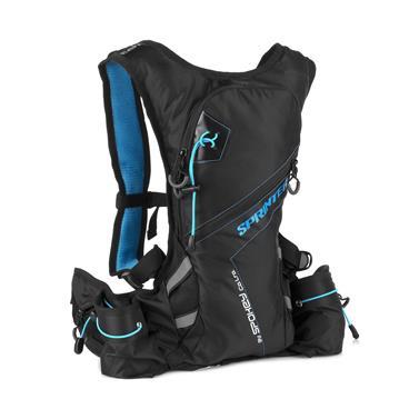 15947fb63 Spokey SPRINTER Cyklistický a běžecký batoh 5l modro/černý, voděodolný
