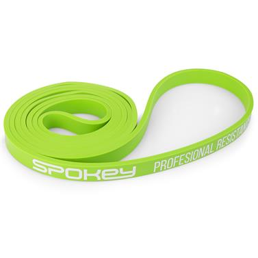 Spokey POWER II odporová guma zelená odpor 11-19 kg