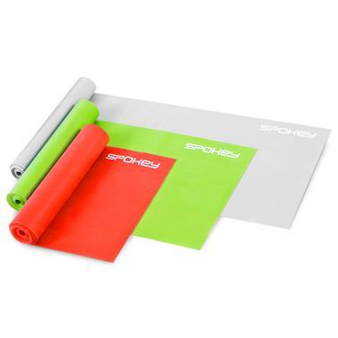 Spokey SWING II Fitness gumy, 3 ks, 3 stupně napětí