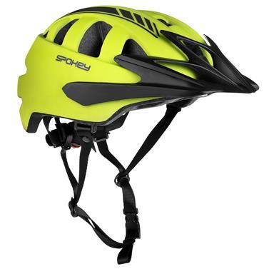 Spokey SPEED Cyklistická přilba pro dospělé a juniory , 58-61 cm, žlutá