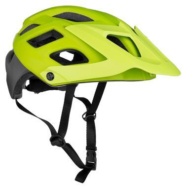 Spokey SINGLETRAIL Cyklistická přilba pro dospělé a juniory  IN-MOLD, 55-58 cm, zelená