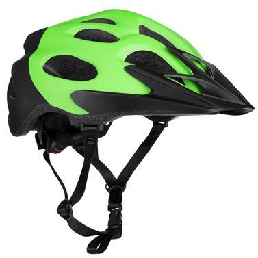 Spokey CHECKPOINT Cyklistická přilba pro dospělé a juniory, 58-61 cm, zelená