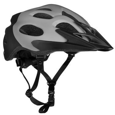 Spokey CHECKPOINT Cyklistická přilba pro dospělé a juniory, 55-58 cm, šedá
