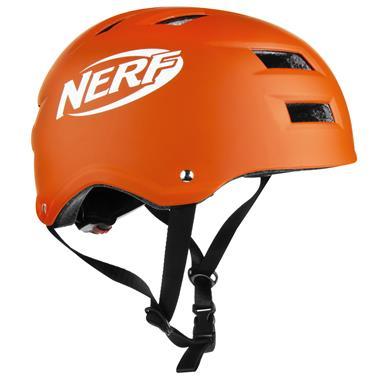 Spokey HASBRO NINJA NERF Juniorská přilba, zn. NERF, 55-58 cm, oranžová