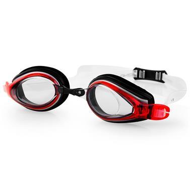 Spokey KOBRA Plavecké brýle, černo-červené