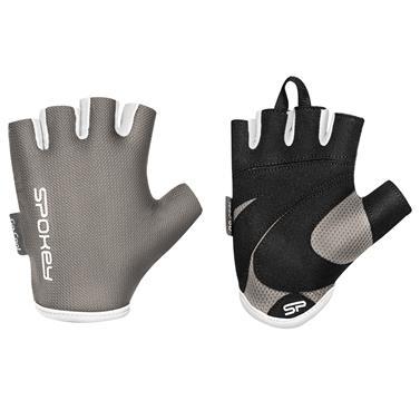 Spokey LADY FIT Dámské fitness rukavice, šedé, vel. M