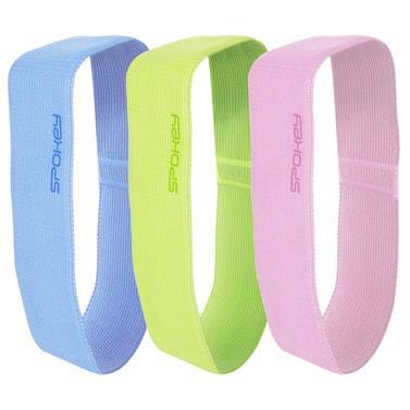 Spokey EMRA Sada fitness bavlněných gum, 3 ks