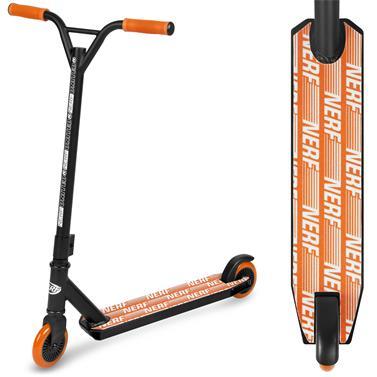 Spokey HASBRO STRIKE Koloběžka freestyle, kolečka 100 mm, zn. NERF, černo-oranžová